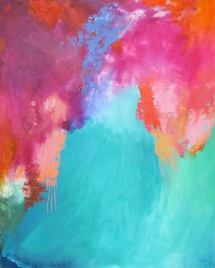Alix Ankele 2013 oil on canvas 62`` x 50``