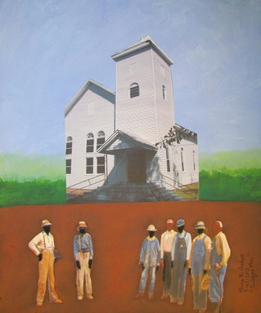 Anekwe speaks of Tuskegee through art