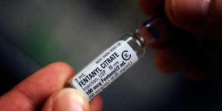 Fentanyl Citrate, a CLASS II Controlled Substance as classified by the Drug Enforcement Agency in the secure area of a local hospital Friday, July10, 2009. Joe Amon / The Denver Post  (Photo By Joe Amon/The Denver Post via Getty Images)